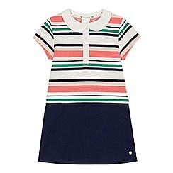 J by Jasper Conran - Girls' multi-coloured ribbed striped dress