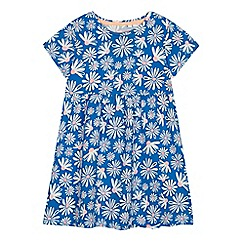 bluezoo - Girls' blue daisy print dress