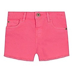 bluezoo - 'Girls' pink denim shorts