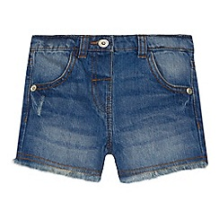 bluezoo - 'Girls' blue denim shorts