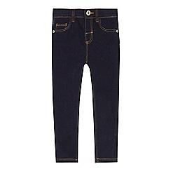 bluezoo - 'Girls' dark blue jeans