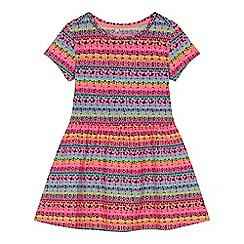 bluezoo - 'Girls' multi-coloured striped dress