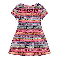 bluezoo - 'Girls' multi-coloured striped dress