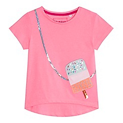 bluezoo - 'Girls' pink ice cream t-shirt