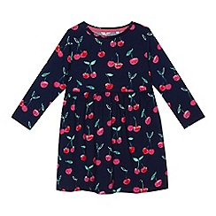 bluezoo - Girls' navy printed dress