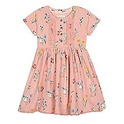 Mantaray - Girls' pink mouse print dress