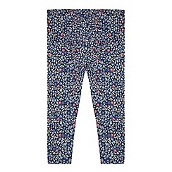 Mantaray - Girls' multicoloured floral print leggings