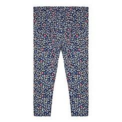 Mantaray - Girls' multicoloured floral print leggings