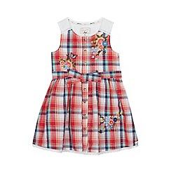 Mantaray - 'Girls' red checked dress