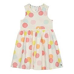 J by Jasper Conran - 'Girls' multi-coloured spotted print dress