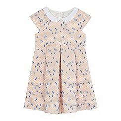 J by Jasper Conran - 'Girls' pink floral textured dress