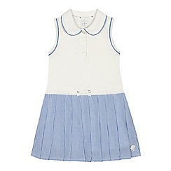 J by Jasper Conran - 'Girls' white striped jersey dress