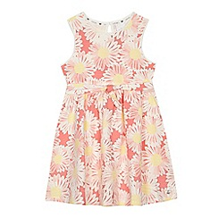 J by Jasper Conran - 'Girls' pink daisy print dress