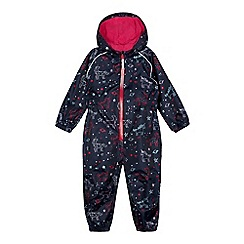 bluezoo - Girls' unicorn print waterproof puddlesuit