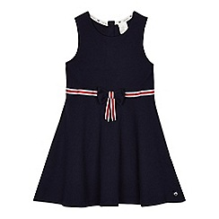 J by Jasper Conran - 'Girls' blue sleeveless ponte skater dress
