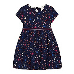 J by Jasper Conran - Girls' navy floral print jersey dress