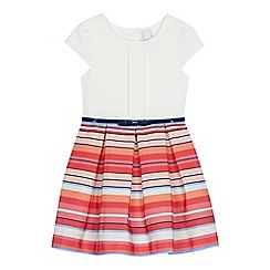 J by Jasper Conran - 'Girls' multi-coloured striped dress