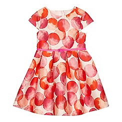 J by Jasper Conran - 'Girls' pink circle print dress