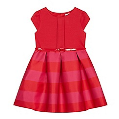 J by Jasper Conran - Girls' Red Striped Dress