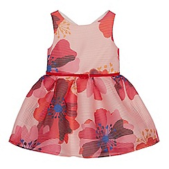 J by Jasper Conran - Girls' Pink Floral Print Burnout Dress