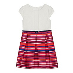 J by Jasper Conran - Girls' Multicoloured Striped Dress