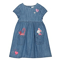 bluezoo - Girls' Blue Denim Dress