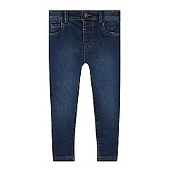 bluezoo - Girl's dark blue skinny fit jeans