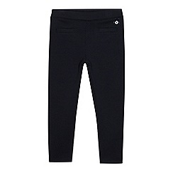 J by Jasper Conran - Girls' navy textured jeggings