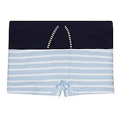 J by Jasper Conran - Boys' blue striped trunks
