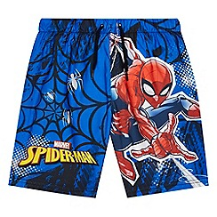 Spider-man - 'Boys' blue 'Spider-Man' print swim shorts