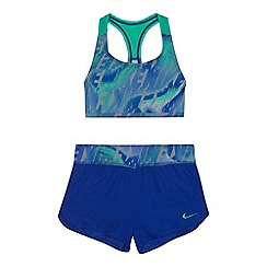Nike - Girls' knitted bikini top with woven short