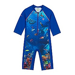 Baker by Ted Baker - Boys' Blue Deep Sea Sunsafe