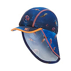 Baker by Ted Baker - Boys' Blue Deep Sea Print Keppi Hat