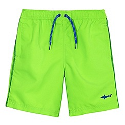 bluezoo - Boys' green swim shorts