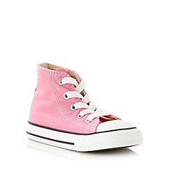 Converse - Children's pink 'All Star' hi-top trainers
