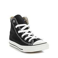 f31394e9aff Converse - Children s black  All Star  hi-top trainers