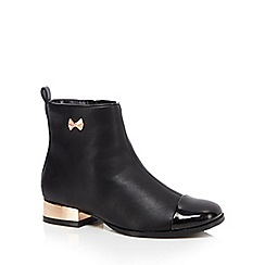 Baker by Ted Baker - Girls' black ankle boots