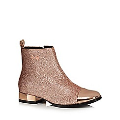 Baker by Ted Baker - Girls' gold ankle boots