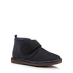 J by Jasper Conran - Boys' navy suede boots