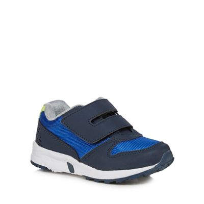 bluezoo - Boys' navy trainers Fashionable and eye-catching shoes