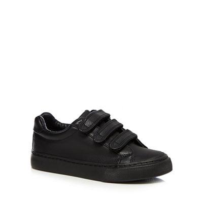 Debenhams - Boys' black trainers Fashionable and eye-catching shoes