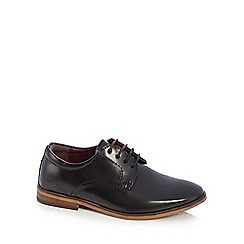 Baker by Ted Baker - Boys black leather smart shoes