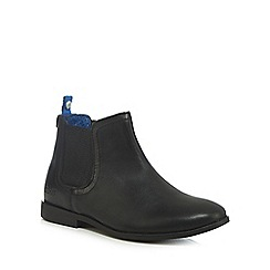 Baker by Ted Baker - Boys' black leather Chelsea boots