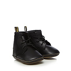 Dr Martens - Baby boys' black leather 'Signature' boots