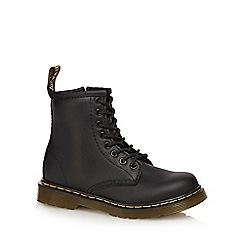 Dr Martens - Unisex black 'Delaney' signature boots