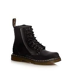 Dr Martens - Girls' black 'Delaney' signature boots