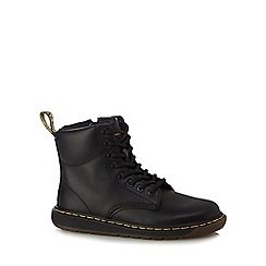 Dr Martens - Childrens' black leather 'Lite' boots