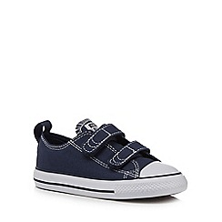 Converse - Boys' navy canvas 'Chuck Taylor' trainers
