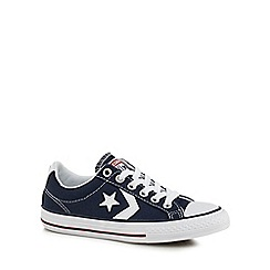 Converse - Boys' navy 'Star Player' canvas shoes