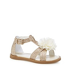 RJR.John Rocha - 'Girls' gold sandals